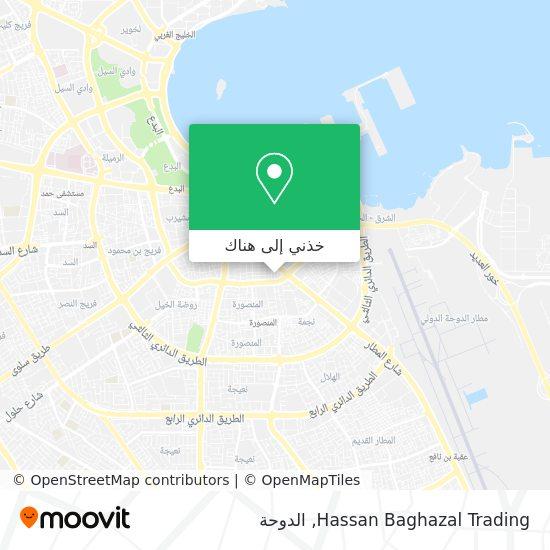 خريطة Hassan Baghazal Trading