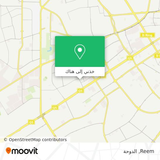 خريطة Reem
