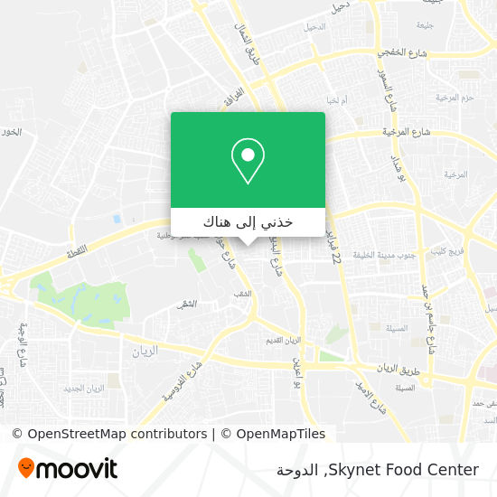 خريطة Skynet Food Center