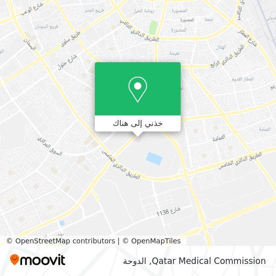 خريطة Qatar Medical Commission