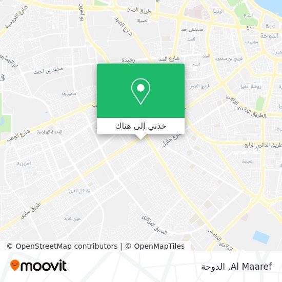 خريطة Al Maaref