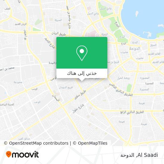 خريطة Al Saadi
