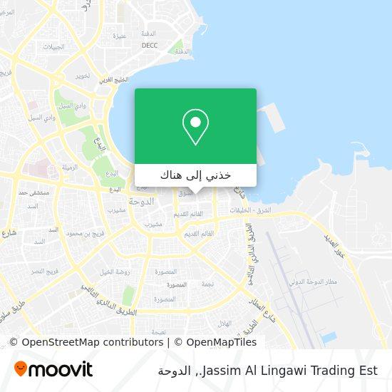 خريطة Jassim Al Lingawi Trading Est.