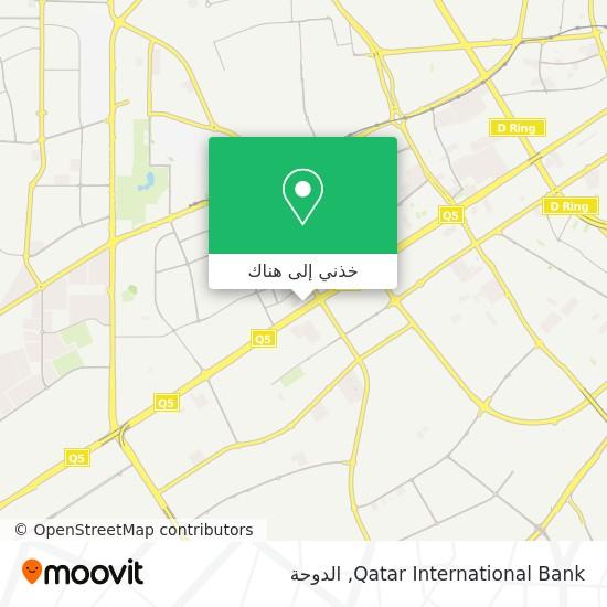 خريطة Qatar International Bank