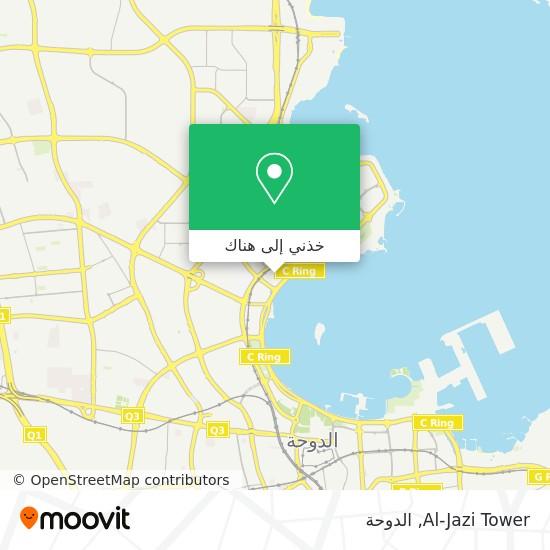 خريطة Al-Jazi Tower