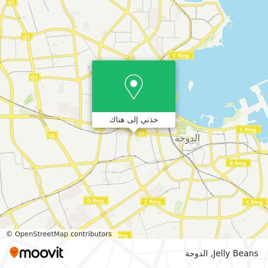 خريطة Jelly Beans