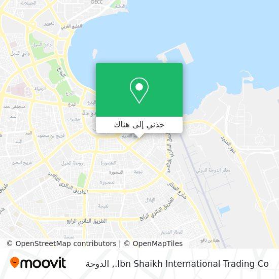 خريطة Ibn Shaikh International Trading Co.