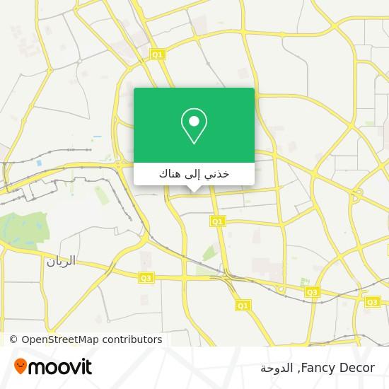 خريطة Fancy Decor