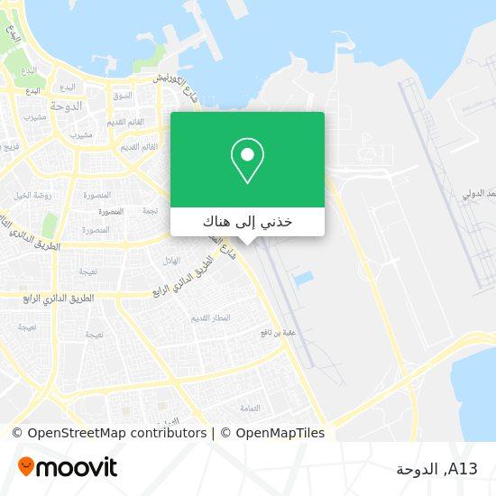 خريطة A13