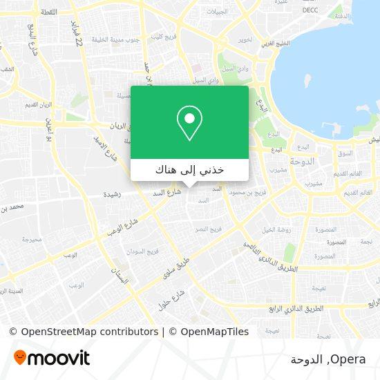 خريطة Opera
