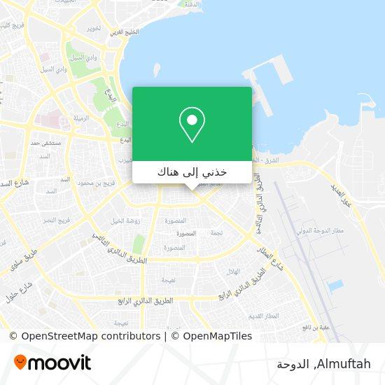 خريطة Almuftah