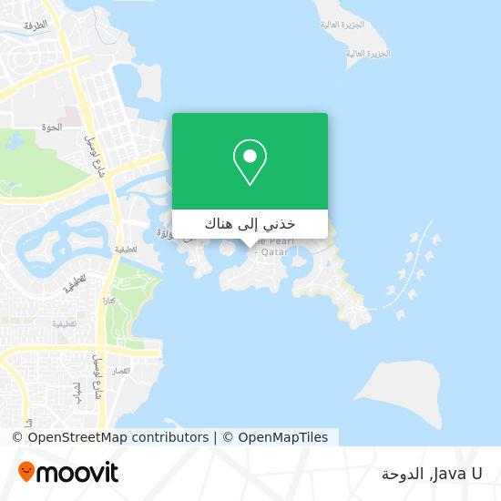خريطة Java U