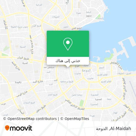 خريطة Al-Maidah
