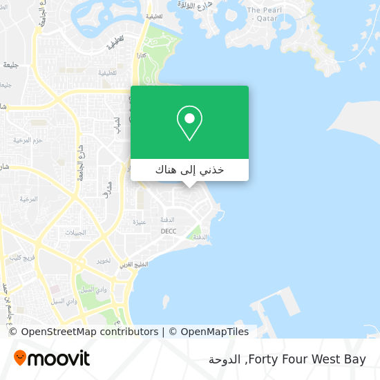 خريطة Forty Four West Bay