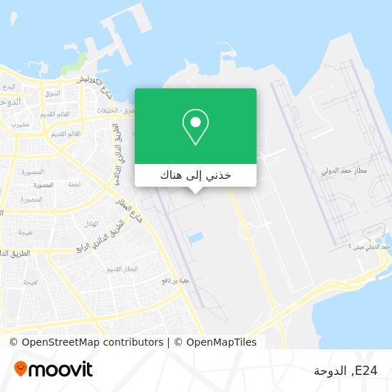 خريطة E24
