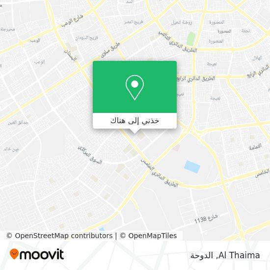خريطة Al Thaima