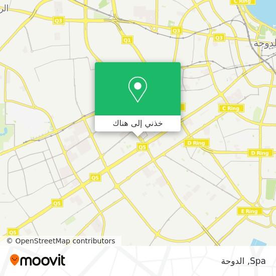 خريطة Spa