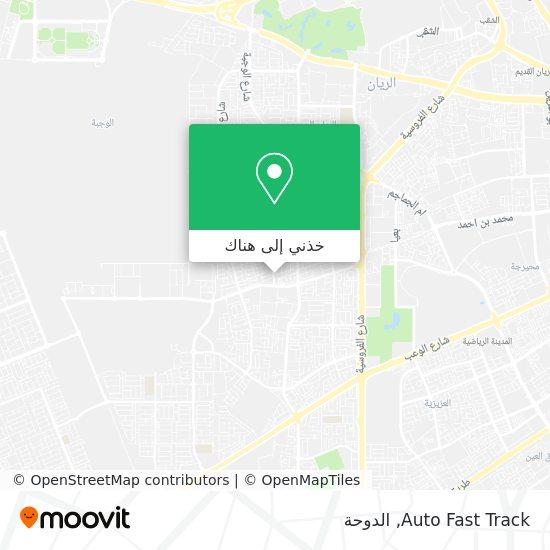 خريطة Auto Fast Track