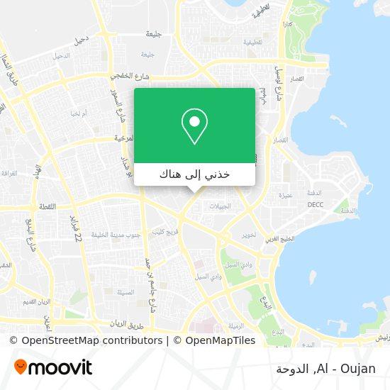 خريطة Al - Oujan