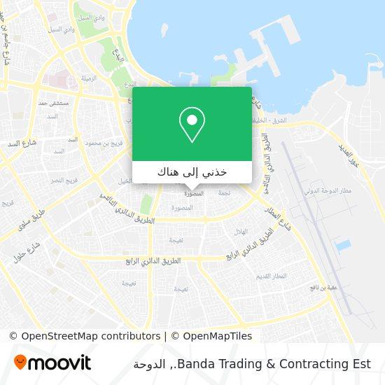 خريطة Banda Trading & Contracting Est.