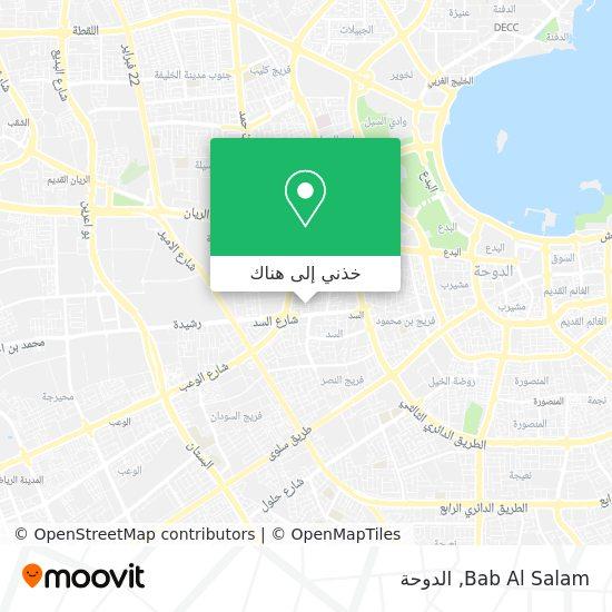 خريطة Bab Al Salam