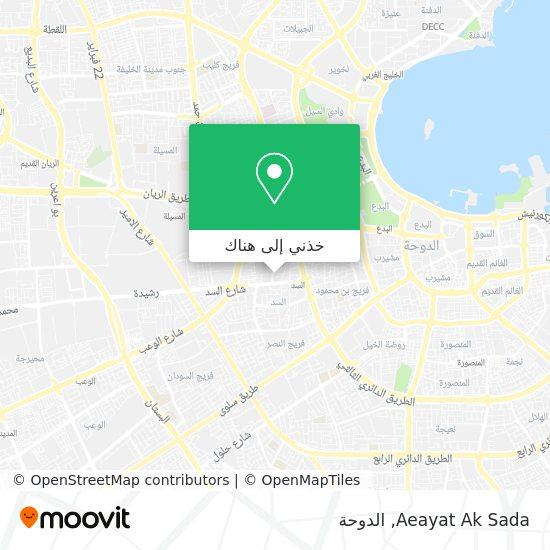 خريطة Aeayat Ak Sada