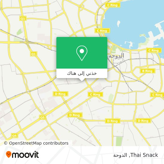 خريطة Thai Snack
