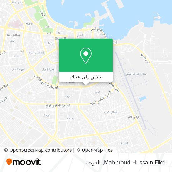 خريطة Mahmoud Hussain Fikri