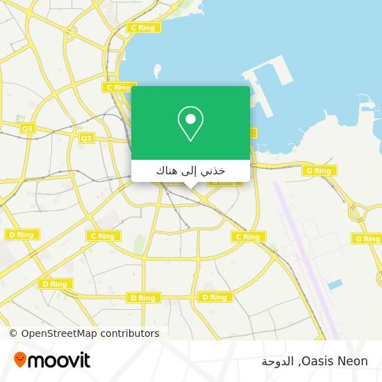 خريطة Oasis Neon