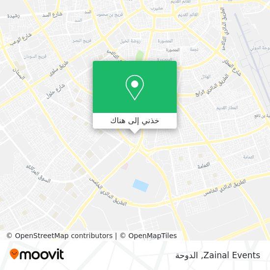 خريطة Zainal Events
