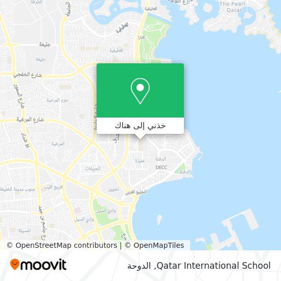 خريطة Qatar International School