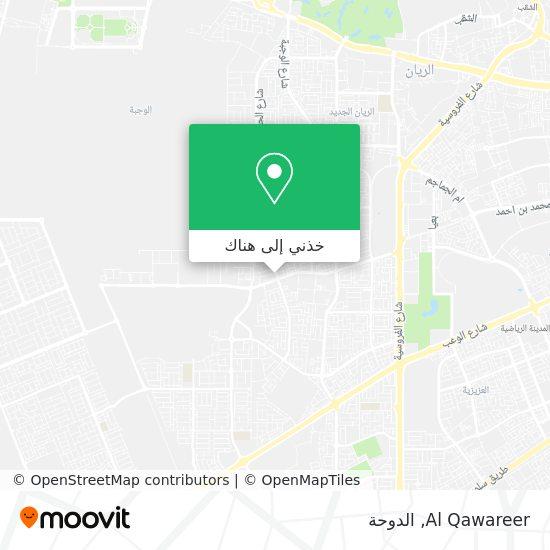 خريطة Al Qawareer