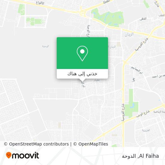 خريطة Al Faiha