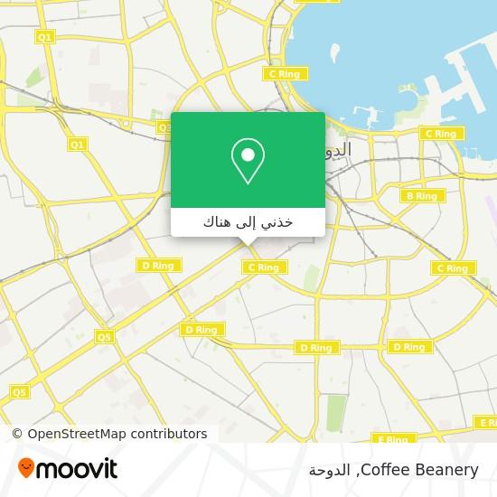 خريطة Coffee Beanery