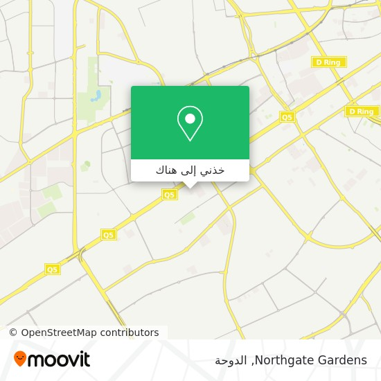 خريطة Northgate Gardens