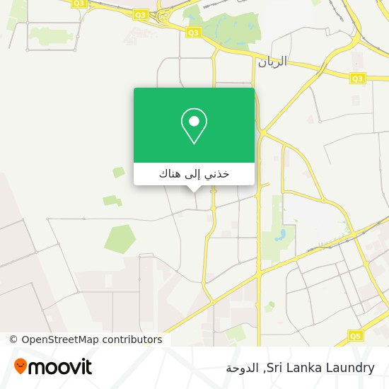 خريطة Sri Lanka Laundry