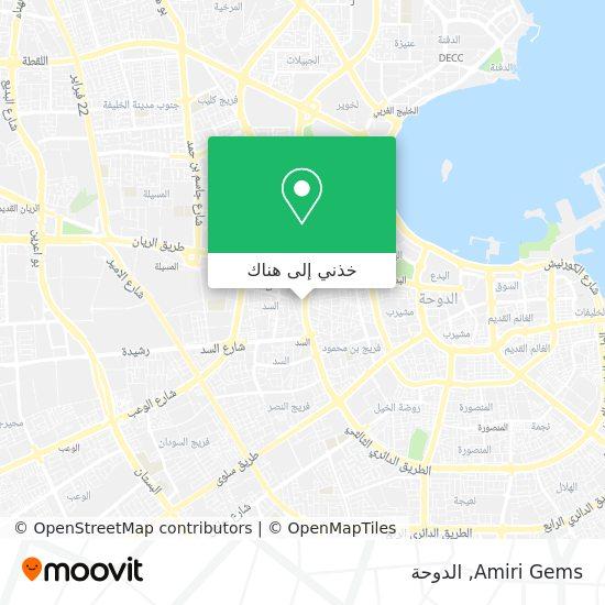خريطة Amiri Gems