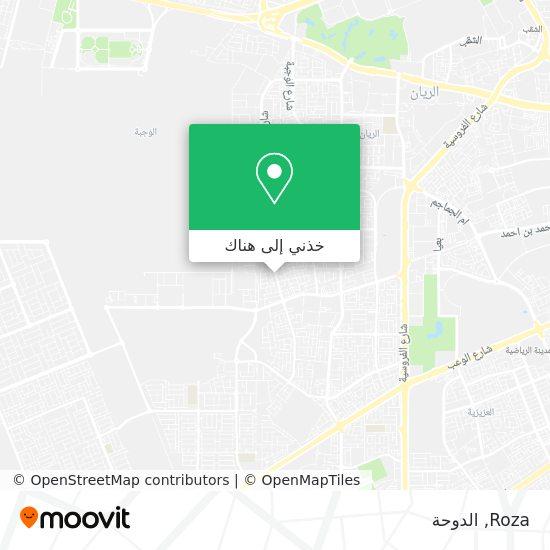 خريطة Roza