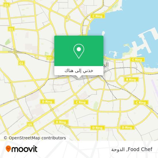 خريطة Food Chef