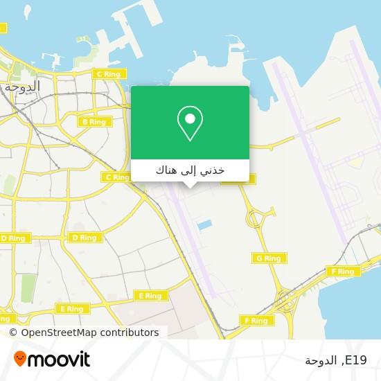 خريطة E19