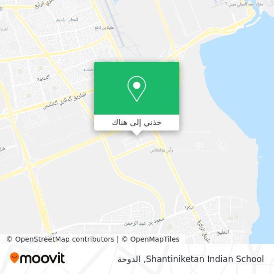 خريطة Shantiniketan Indian School