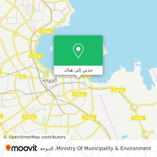 خريطة Ministry Of Municipality & Environment