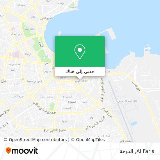 خريطة Al Faris
