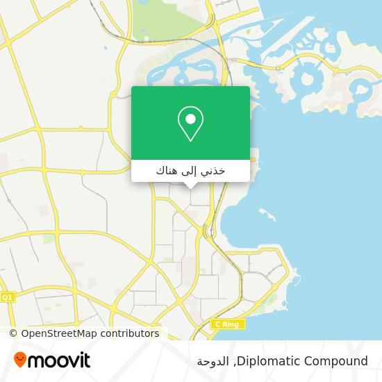 خريطة Diplomatic Compound