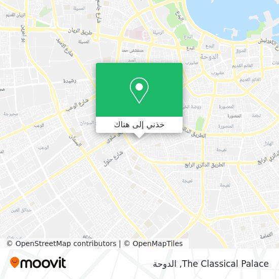 خريطة The Classical Palace