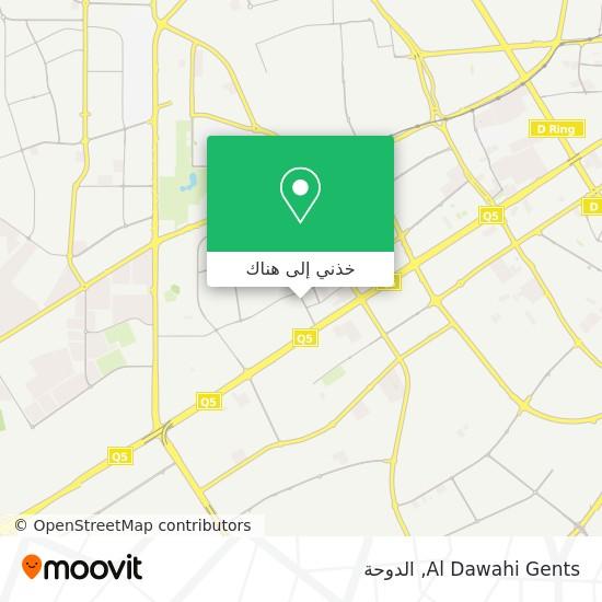 خريطة Al Dawahi Gents