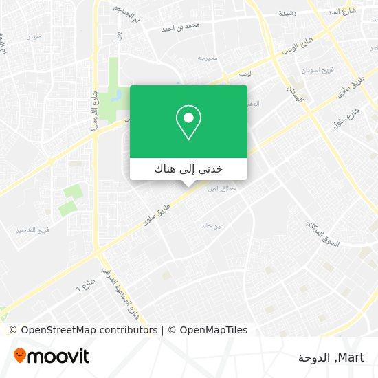 خريطة Mart