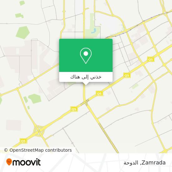 خريطة Zamrada