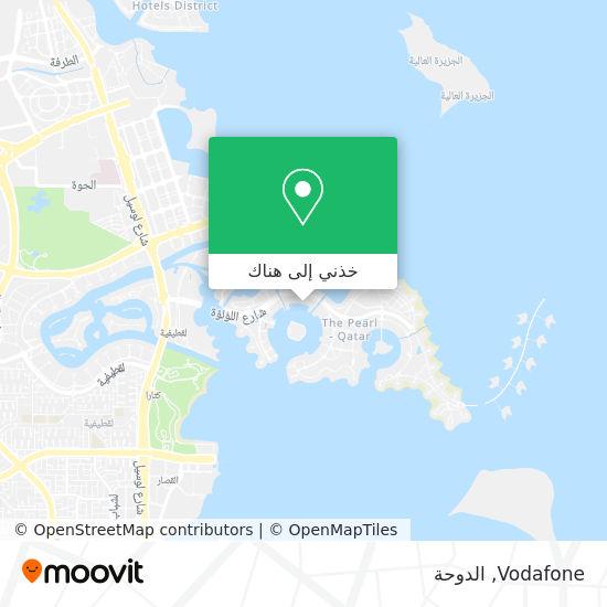 خريطة Vodafone