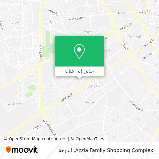 خريطة Azzia Family Shopping Complex